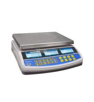 Balanza Comercial - Serie Baker 6/15 - Capacidad. 6/15 Kg  Precisión 25 g