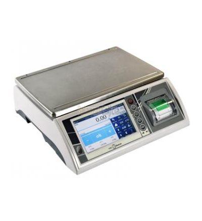 Balanza de control de peso con pantalla táctil. Tecnología de precisión, ágil y estable para optimizar los procesos productivos y comerciales.