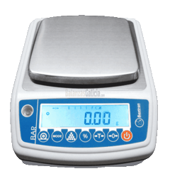 BG-BAR de 150 a 3000g - Balanza de precisión Metrológica