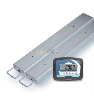 Pareja de Barras pesadoras con visor - Serie BG-FENDER - 3000Kg