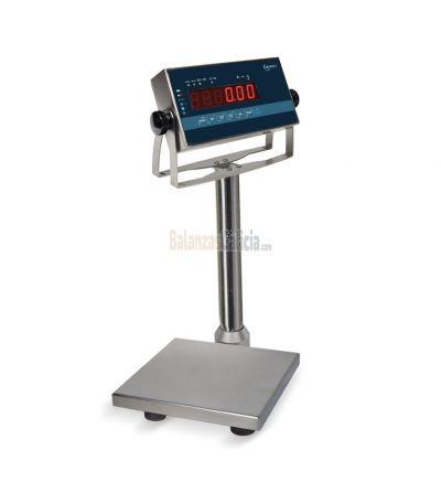 Báscula digital industrial extraplana Inox - Serie CLEAN-X - IP67