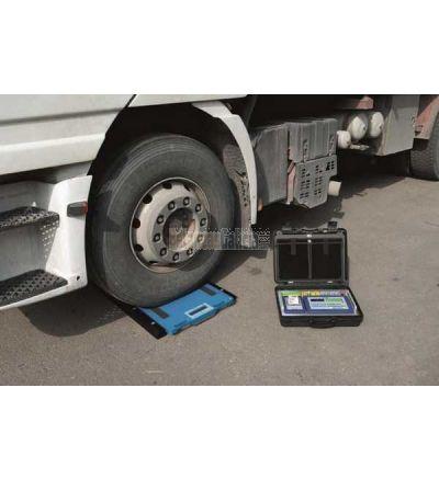 Plataforma pesa ruedas y ejes sin hilos Serie BG-PSWIFER