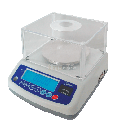 Balanza de Precisión para pesaje de Tejidos - Serie BG-BAT ROUND