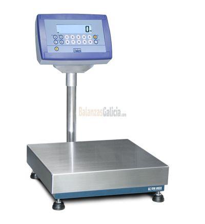 Sistema de pesaje y etiquetado BG-AX-TIKER con impresora de etiquetas o tiques opcional