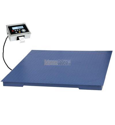 Plataforma de pesaje con impresora - Serie BG-Roster-Printer