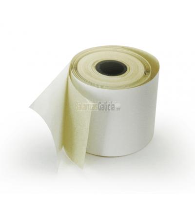 Rollo de papel térmico adhesivo / etiqueta para visor BG-0953
