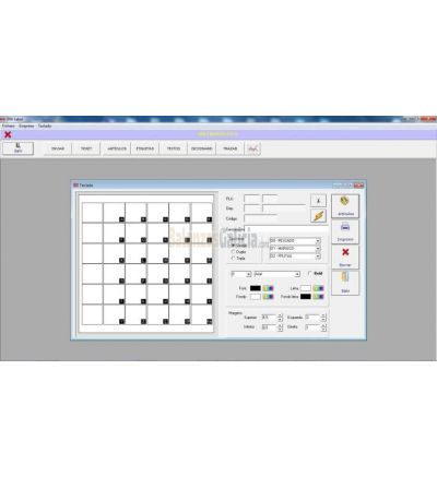 Software para programación de balanzas BMLabel