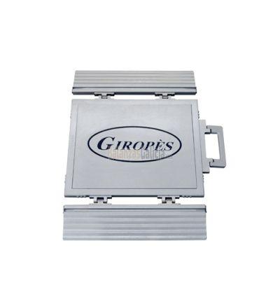 Plataforma pesa ruedas y ejes estático para coches, furgonetas y pequeños vehículos - Serie BPRE