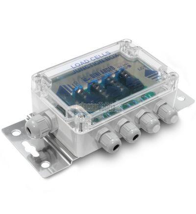Caja suma ATEX de ABS IP67 máximo 4 células. 4 + 1 prensaestopas.