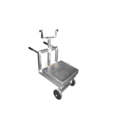CARRO-MESA DE SOPORTE - Conjunto para desplazar el equipo de pesaje completo