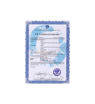 Certificado ISO de Calibración BAX/GIR
