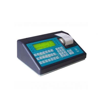 Controlador de Peso BG-5X11 con Impresora de tiques para Pesaje Dinámico de Ejes de Un Vehículo