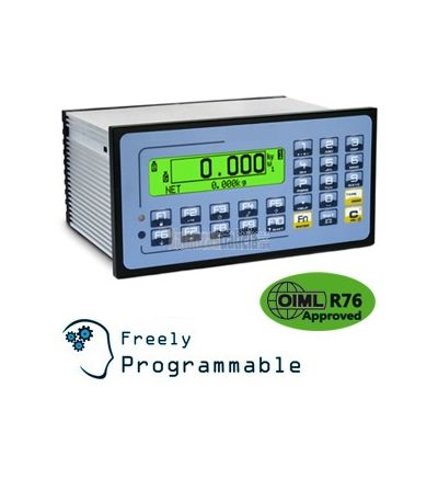Microcontrolador/ Visor de peso para automatización Industrial BG-15CPWE y programa para sistemas de control de tolerancia