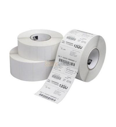 Etiquetas Poliester Plata para Impresoras ZEBRA Industriales Transferencia Térmica a prueba de manipulaciones