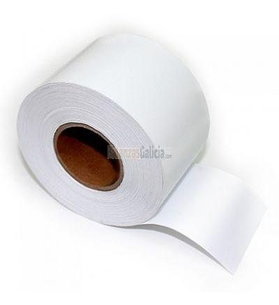 Rollos de papel Linerless térmico adhesivo (tique o etiqueta)