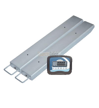 Pareja de Barras pesadoras con visor - Serie XFI Baxtran - 3000Kg