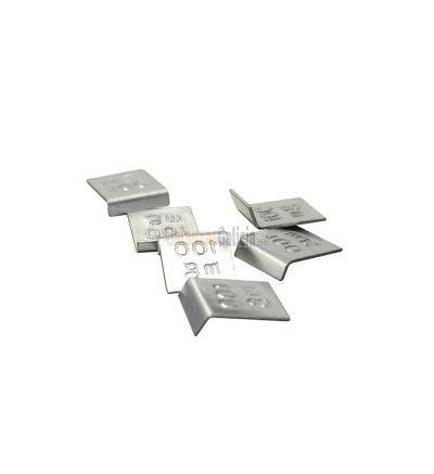 Juego 12 Fracciones Acero Inox OIML F1 - Desde 1mg hasta 500 mg - TC