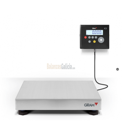 K3 Series -  Balanza Industrial de Plataforma con Visor