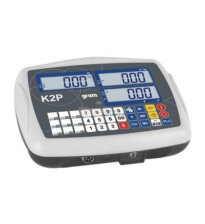 Indicador Gram K2P – El indicador para pesar grandes cargas