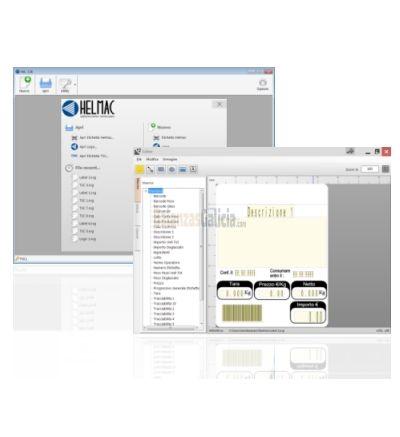 Software de Diseño de Etiquetas para Balanzas - Helmac Label Loader HLL