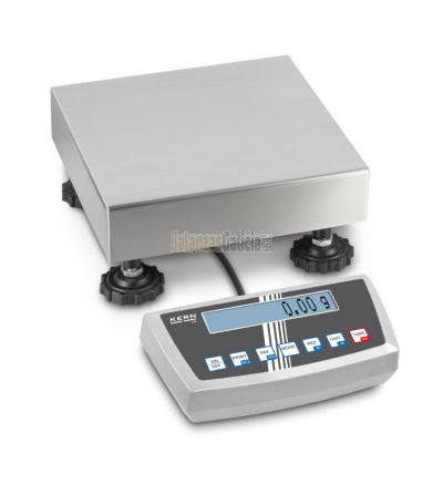 Balanza de plataforma de acero inoxidable - Serie DS