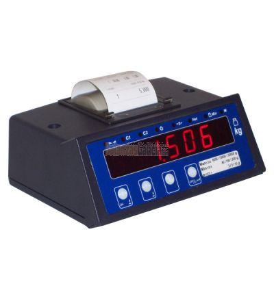 Indicador peso-tara BG-PRIN308 con impresora - válido para metrología legal