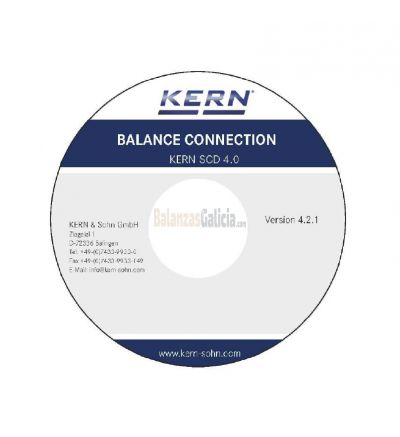 Software Balance Connection - KERN SCD