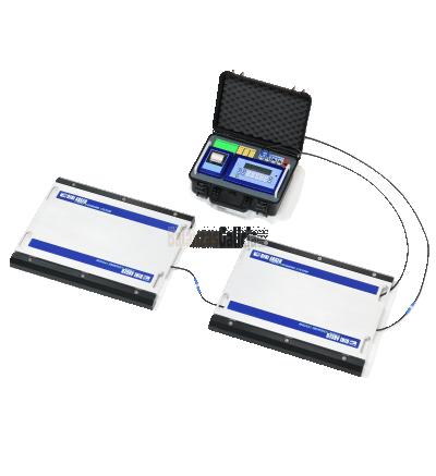 KIT Plataformas pesa-camiones portátil completo - Serie EJE-PROF-ECO