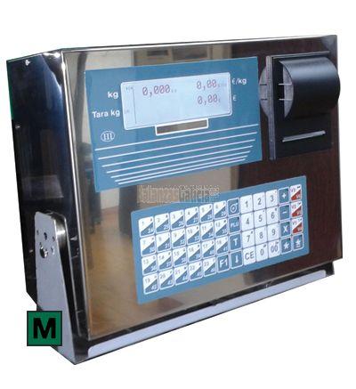 KP - Visor  de peso con Impresora incorporada