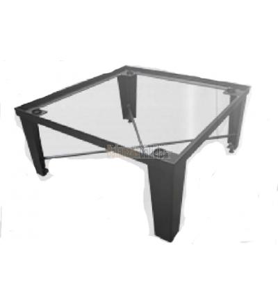 Mesas caballete elevadas para básculas de plataforma hasta 2 m.