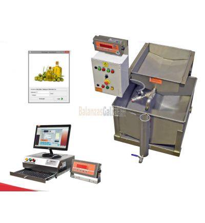 Equipo para en control y pesaje de aceite OLIVAGAL
