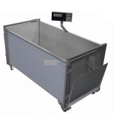 Bascula para pesaje de Ganado BG-GANDO-101 Para Cerdos, Ovejas, Cabras