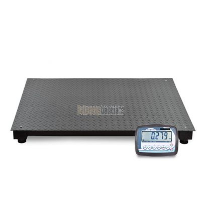 Plataforma báscula industrial de suelo con visor - Serie BG-Silver PLUS - 1.500/3000Kg