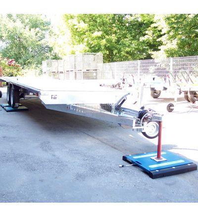 Básculas Plataformas pesaruedas / pesaejes portátiles - Serie BG-WW-PROF