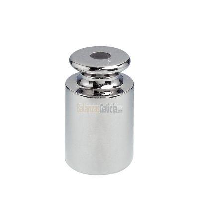 Masas M1 cilindricas en acero cromado de 5 Kg
