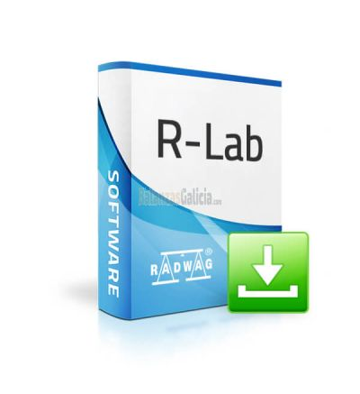 Software de balanza R-LAB de RADWAG - Precio de licencia para 1 balanza.