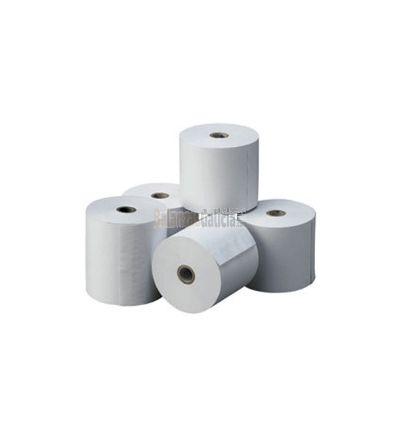 Caja de 50 rollos de papel térmico 57 x 30 mm para balanzas HELMAC