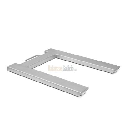 Bascula Industrial Pesapalets INOXIDABLE con visor - Serie BG-INOX-MARINE-SC Acero AISI-316L