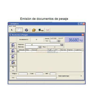 Software de gestión de pesaje WINSIMPLEX
