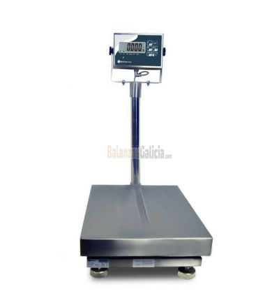 Báscula Industrial monocélula total acero INOX - Serie TMH