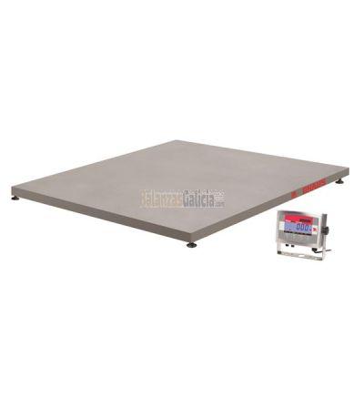 Báscula de suelo con visor - Serie VE Ohaus de Acero Inoxidable