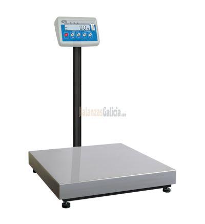 Balanza de plataforma WPT/C Capacidad hasta 300 Kg - 700x500mm