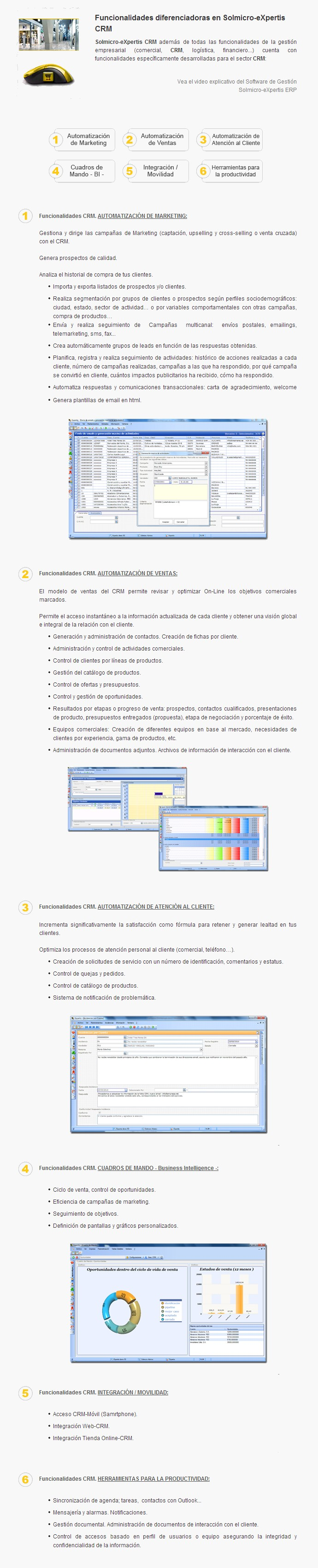 Solmicro CRM