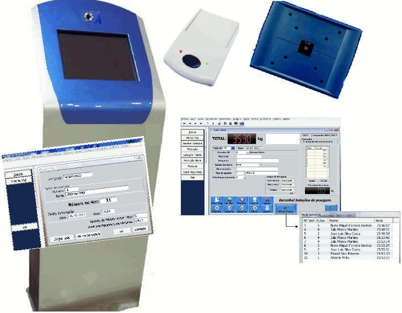 Software de Gestión - Recogida - Pesaje de aceite OLIVAGAL